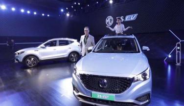MG ने लॉन्च की भारत की पहली इलेक्ट्रिक इंटरनेट एसयूवी 'ZS EV'