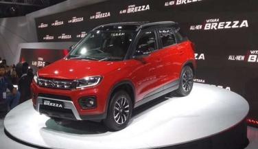 Maruti Suzuki launches Vitara Brezza facelift in India, know... - Economy Car News in Hindi