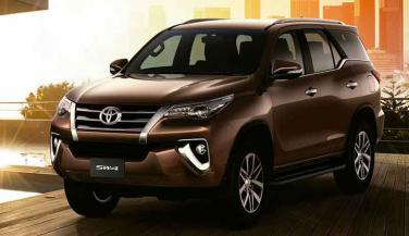 India-bound 2016 Toyota SW4 Fortuner अर्जेंटीना में लॉन्च