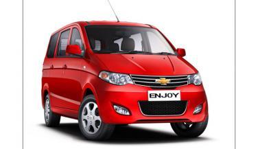 Chevrolet ने लॉन्च किया नया Enjoy MPV<br>
