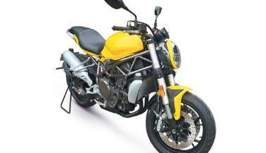 Benelli 750cc स्पोर्ट्सबाइक की तस्वीरें हुई लीक
