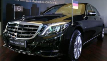 Mercedes Maybach S600 Guard भारत में लॉन्च, कीमत 10.5 करोड<br>