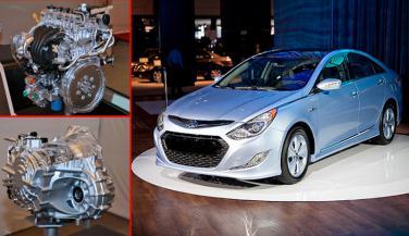 Hyundai ने Hybrid व 8 Speed Auto Transmission के लिए GDI Engine किया Unveil