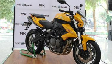 DSK Benelli ने लॉन्च किया TNT 600i का ABS वर्जन<br>