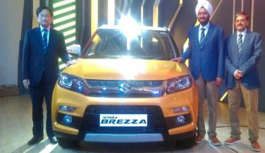 Maruti Suzuki Vitara Brezza लॉन्च, कीमत 6.99 लाख से शुरू