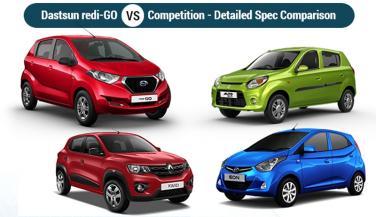 Datsun RediGo : कितनी भारी पडेगी अपने प्रतियोगियों पर