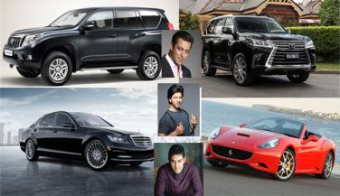 बाॅलीवुड खान भी हैं लग्ज़री कारों के दिवाने