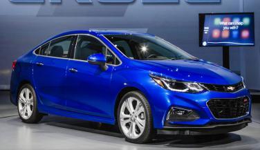 2016 Chevrolet Cruze लॉन्च, कीमत 14.68 लाख रुपए