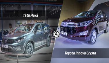 टोयोटा इनोवा क्रिस्टा या टाटा हैक्साः कौन पड़ेगा किस पर भारी, जानिए यहां