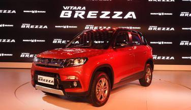 Auto Expo 2016 : Maruti Vitara Brezza का Global Debut