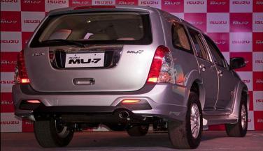 Isuzu Motors ने लॉन्च किया MU-7 Automatic Transmission