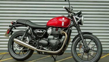 Triumph ने लॉन्च की Street Twin और Bonneville T120 Bike