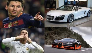 रोनाल्डो से मैसी तक सभी हैं लग्ज़री कारों के शौकीन, जाने किसके पास है कौनसी कार …