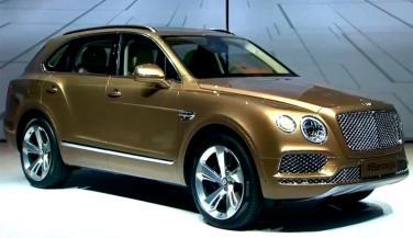 3.85 करोड़ रुपए की Bentley Bentayga लॉन्च, जानें खासियत
