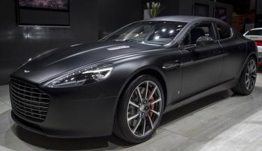 2016 Aston Martin Rapide लॉन्च, कीमत 3.29 करोड़ रुपए