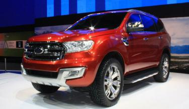 2016 Ford Endeavour जनवरी में होगी भारत में Launch