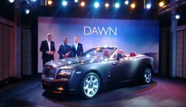 Rolls-Royce Dawn लॉन्च, कीमत 6.25 करोड़ रूपए