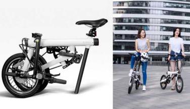 ये इलेक्ट्रिक साइकिल कुर्सी की तरह हो सकती है फोल्ड