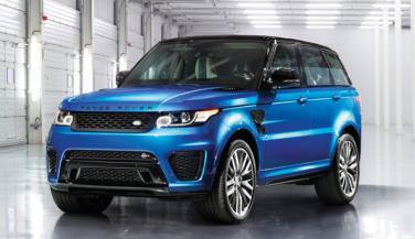 भारत में Range Rover Sport SVR लॉन्च, कीमत 2.12 करोड रुपए