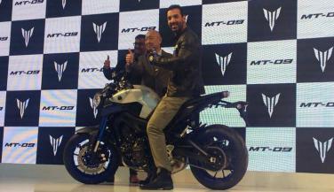 Auto Expo 2016 : Yamaha ने MT-09 Bike की लॉन्च, कीमत 10.2 लाख