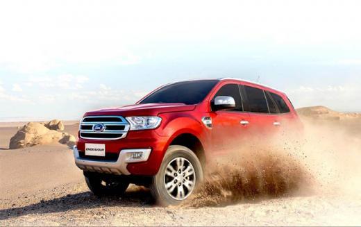 Ford ENDEAVOUR के दाम 2.82 लाख रूपए तक घटे